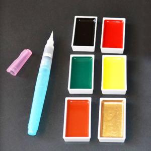 "Set 06 Pigmenti Giapponesi ""GANSAI TAMBI"""
