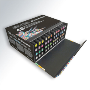 Winsor & Newton BrushMarker – set 48 colori
