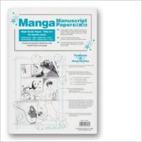 Carta Manga Genkouyoushi Too Marker con tachikiri A4