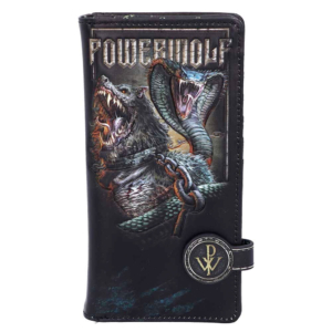 Powerwolf Embossed Purse 18.5cm