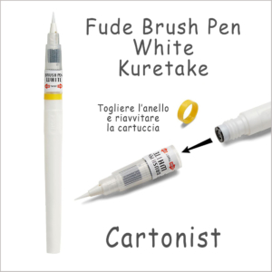 Brush Pen White – Kuretake