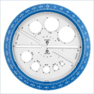 Cerchi in Stencil e goniometro