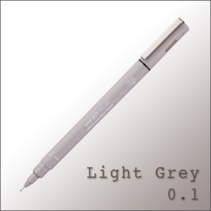Drawing Pen Light Grey – Uni