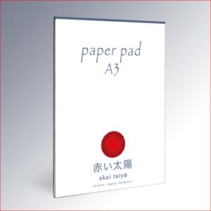 Paper pad A3 – akai taiyō