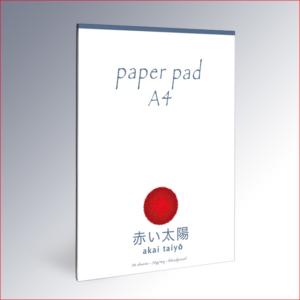 Paper pad A4 – akai taiyō