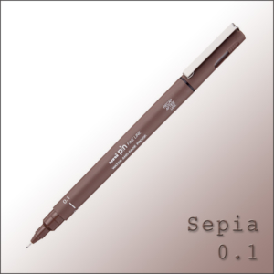 Drawing Pen Sepia – Uni