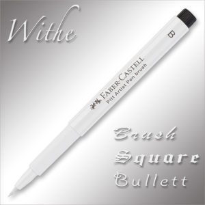 Faber-Castell Pitt Artist Drawing Pen White