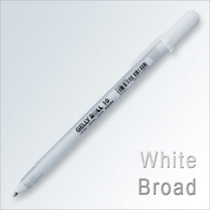 GELLY ROLL Bianco Broad 10