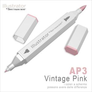 Spectrum Noir – Illustrator – AP3 Vintage Pink
