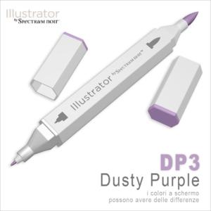 Spectrum Noir – Illustrator – DP3 Dusty Purple