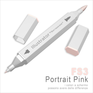 Spectrum Noir – Illustrator – FS3 Portrait Pink