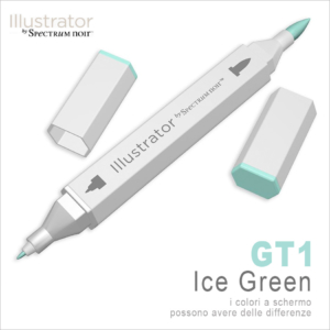 Spectrum Noir – Illustrator – GT1 Ice Green