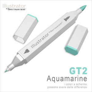 Spectrum Noir – Illustrator – GT2 Aquamarine