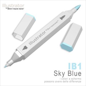 Spectrum Noir – Illustrator – IB1 Sky Blue