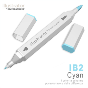 Spectrum Noir – Illustrator – IB2 Cyan