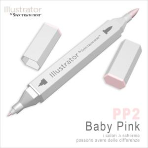 Spectrum Noir – Illustrator – PP2 Baby Pink