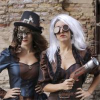 3-Cappello-Steampunk-nero-con-fibbia-e-piume-per-adulto-